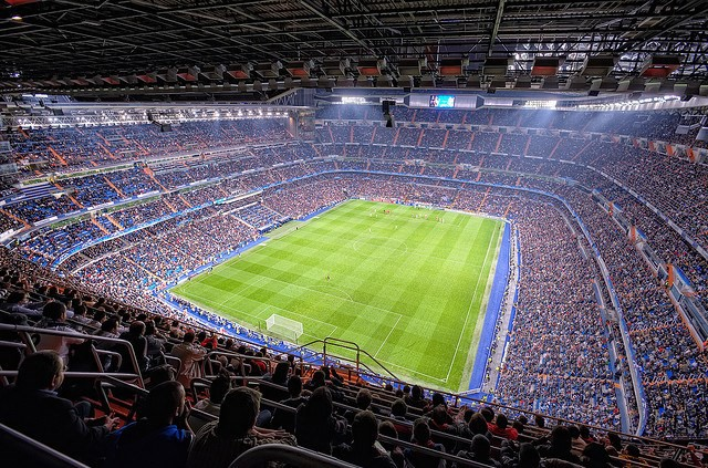 Santiago Bernabeu Stadium Real Madrid