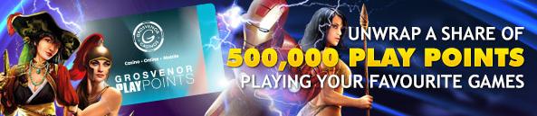 half a million play points
