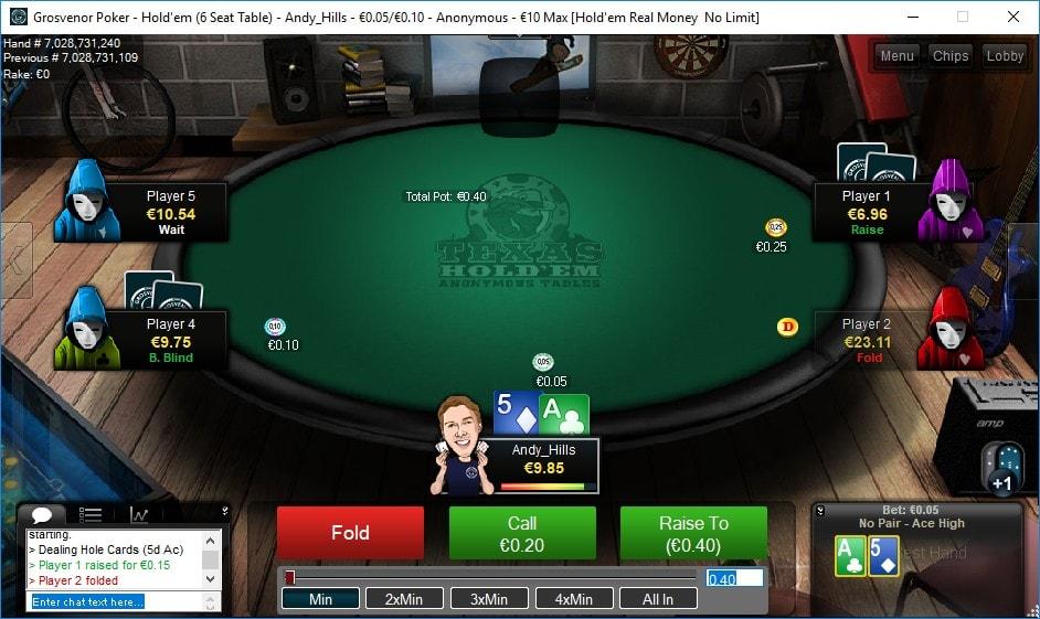 Cash Poker Games Online