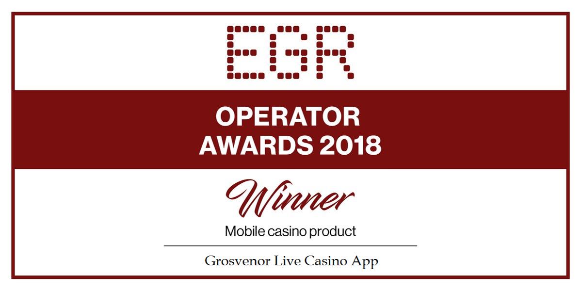 Live Casino App EGR