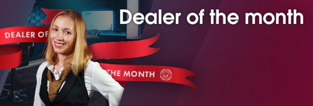 Live Casino Dealer of the month - Carla