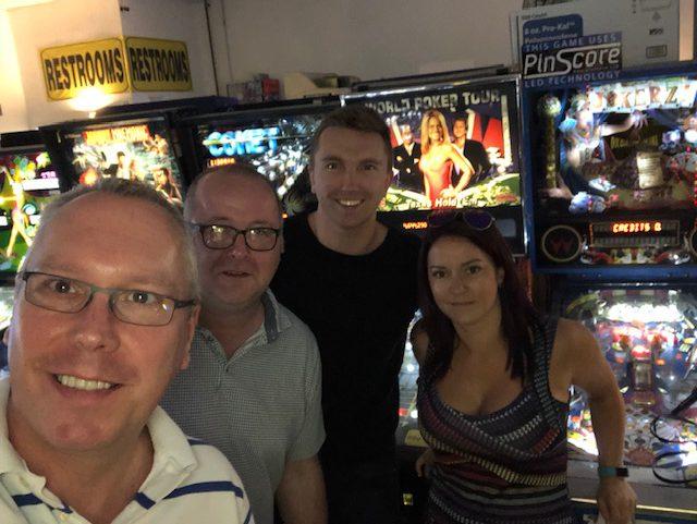 Grosvenor Team Pinball