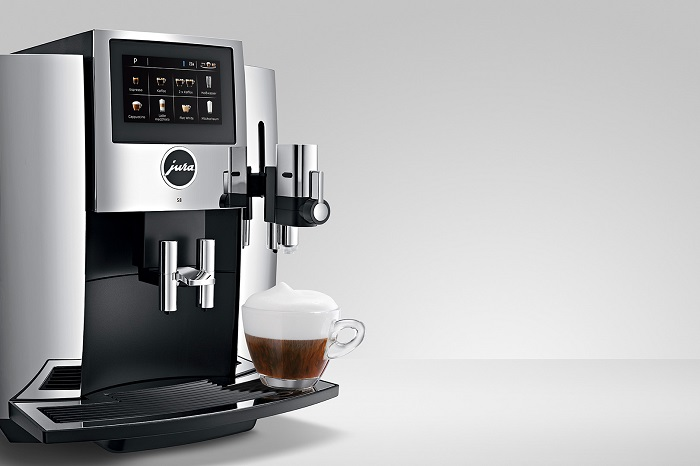 Jura S8 home coffee machine