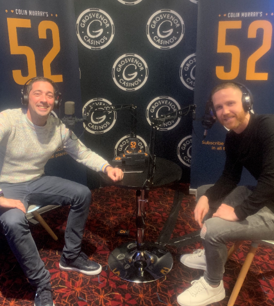 Colin Murray's 52 with…..Adam Forshaw