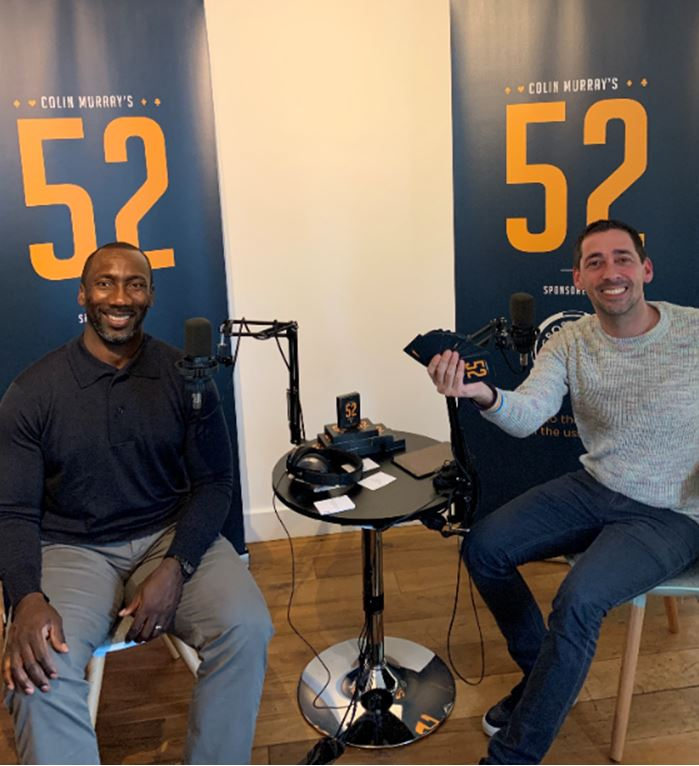 Colin Murray's 52 with….Jimmy Floyd Hasselbaink