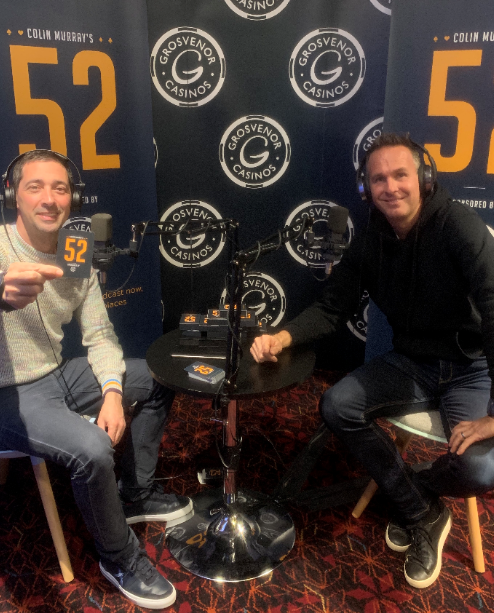 Colin Murray's 52 with….Michael Vaughan