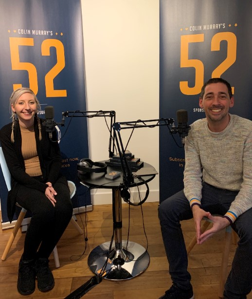 Colin Murray's 52 with….Fallon Sherrock