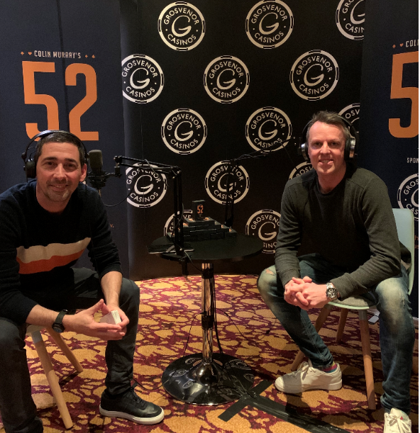 Colin Murray's 52 with….Graeme Swann