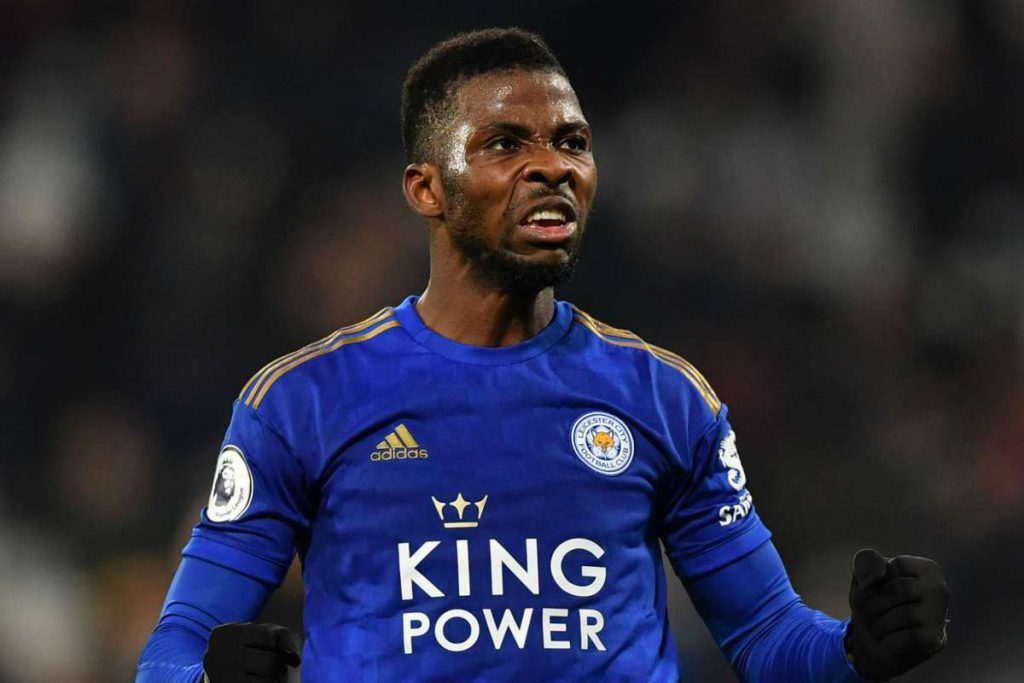 Striker Leicester City Kelechi Iheanacho