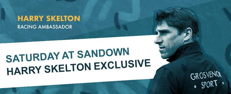Harry Skelton Sandown Exclusive