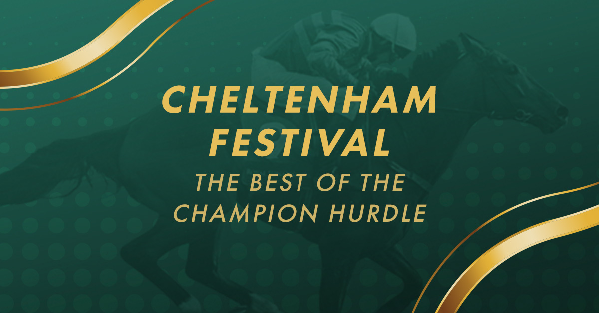 Top 10 Champion Hurdle winners at the Cheltenham Festival